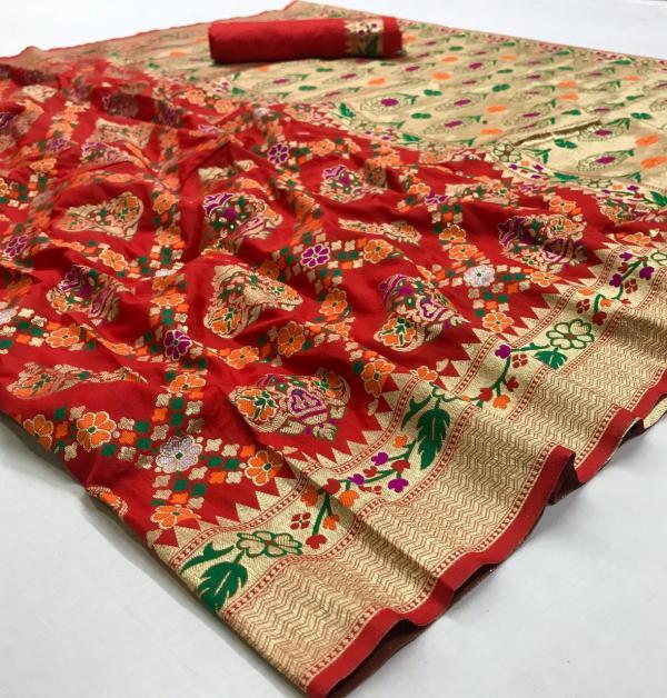 Rajtex Kalakari Silk 107001-107006 Real Image