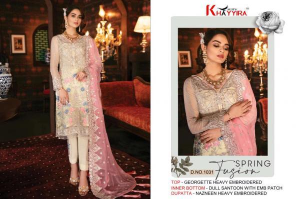 Khaiyyra Suits Freesia Vol-2 1031-1035 Series