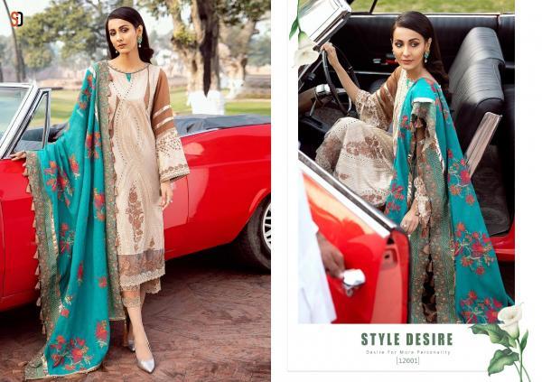 Shraddha Designer Charizma Cotton Collection 12001-12004 Series