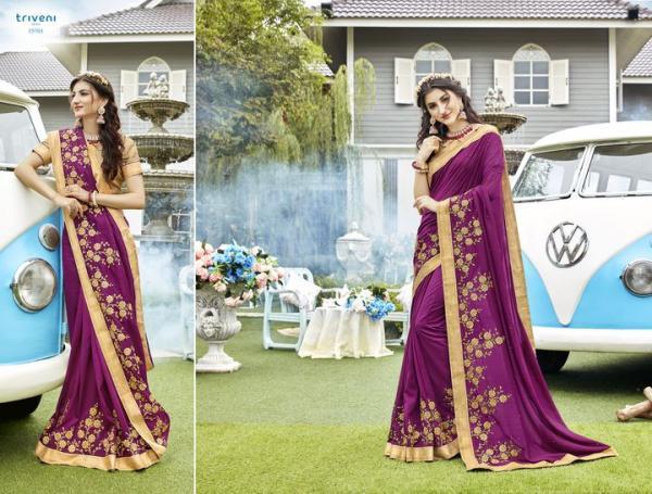 Triveni Saree Pulkita 15701-15712 Series