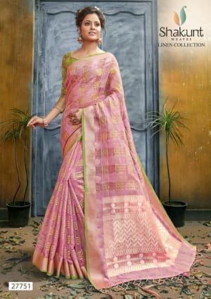 Shakunt Sarees Vallam Kali 27751-27756 Series