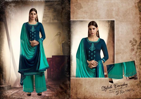 Kessi Fabrics Ramaiya Poshak 10071-10078 Series