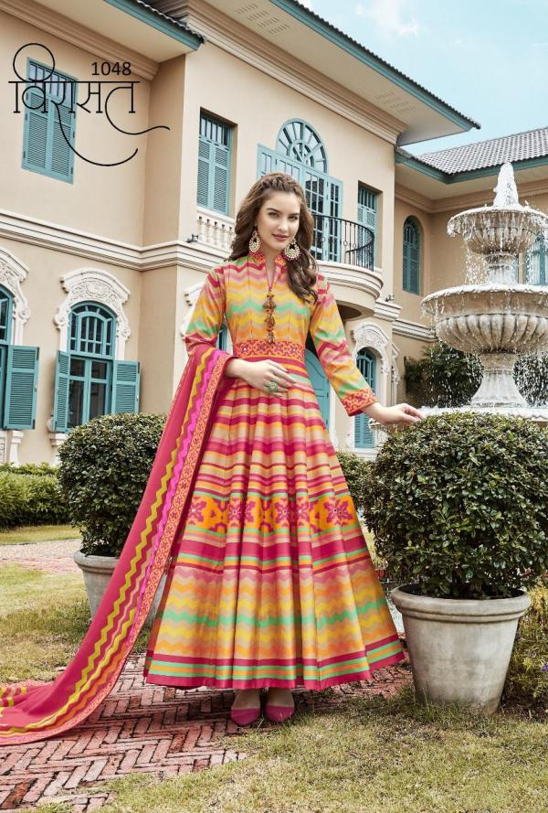 Virasat Gowns 1048 Colors