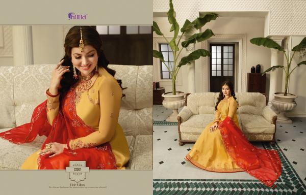 Fiona Aayesha Kali Organza Silk Heavy Dupatta Vol-2  22301-22307 Series