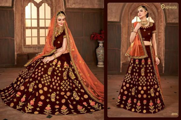 Gajiwala Lehenga Jharokha 2956-2966 Series