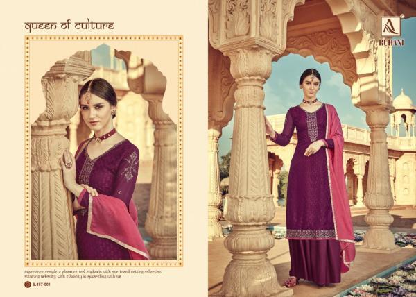 Alok Suit Ruhani 487-001-487-008 Series