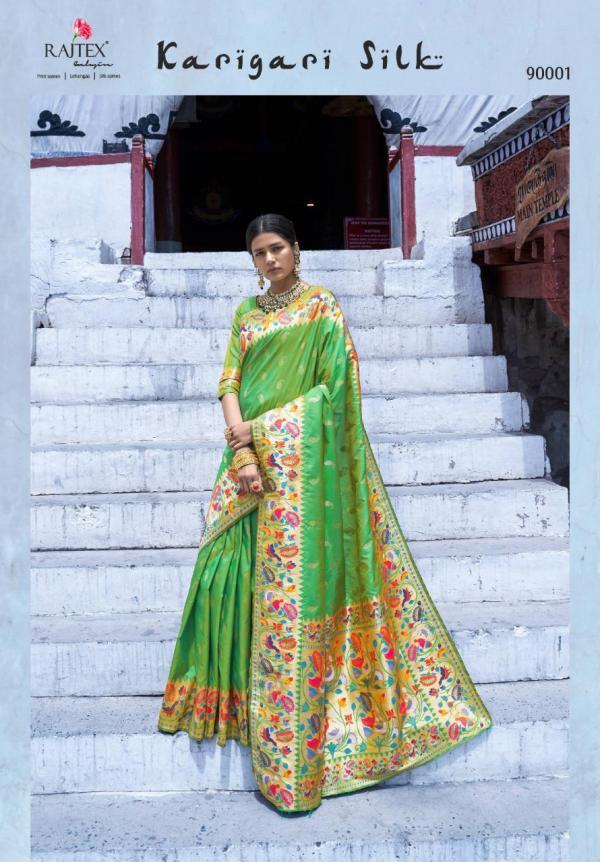 Rajtex Karigari Silk 90001-90006 Series