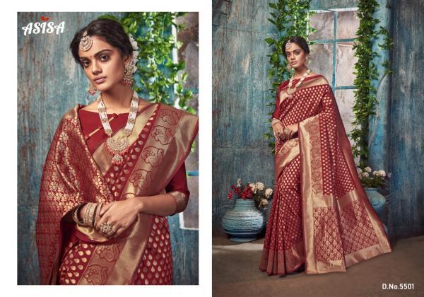 Asisa Saree Silkina 5501-5509 Series