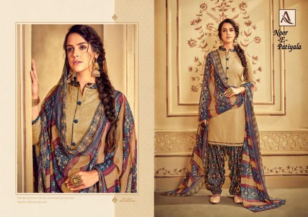 Alok Suit Noor E Patiyala 317-001-317-010 Series