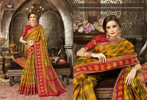 Triveni Saree Jivantika 26701-26708 Series