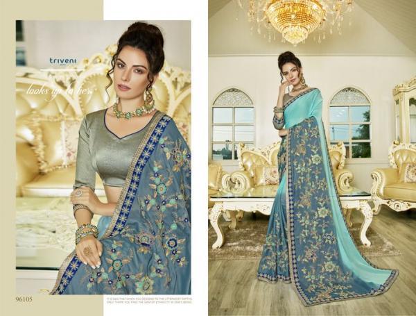 Triveni Saree Tamasha Vol-10 96105-96112 Series