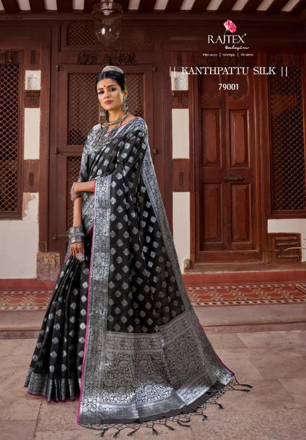 Rajtex Saree Kanthpattu Silk 79001-79010 Series