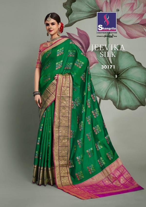 Shangrila Saree Jeevika Silk 30171-30176 Series