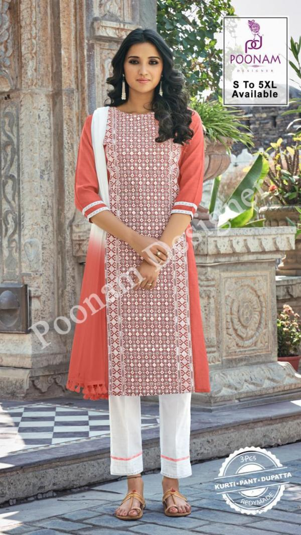Poonam Designer Gorgeous Lucknowi 1001-1006 Series