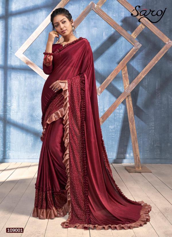 Saroj Saree Sandalwood Vol 3 109001-109006 Series