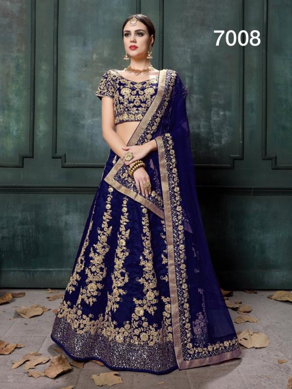 Z-7008-Colour wedding Bridal Lehenga Choli