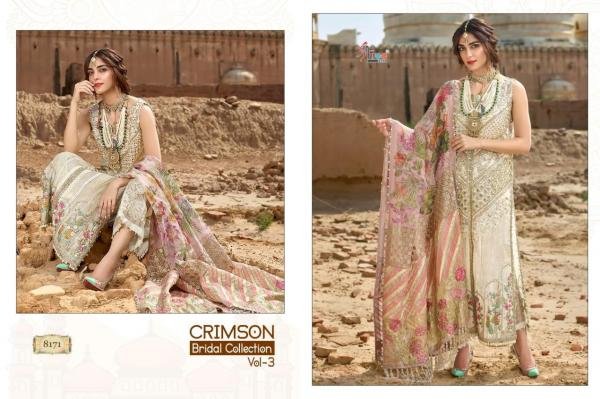 Shree Fabs Crimson Bridal Collection Vol-3 8171-8177 Series