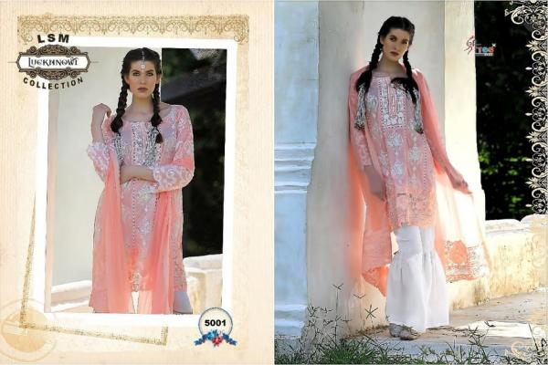 Shree Fabs LSM Luckhnowi Collection 5001-5007 Series