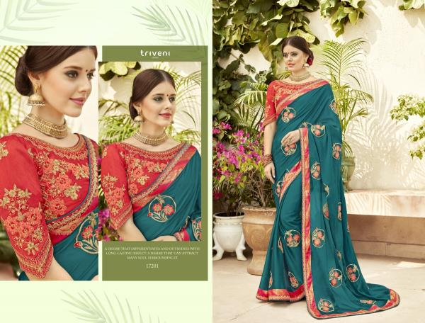 Triveni Saree Nazare 17201-17208 Series