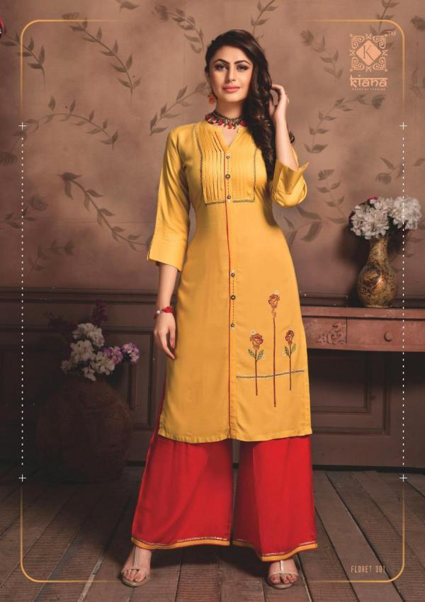 Kiana House Of Fashion Floret Vol-3 301-308 Series