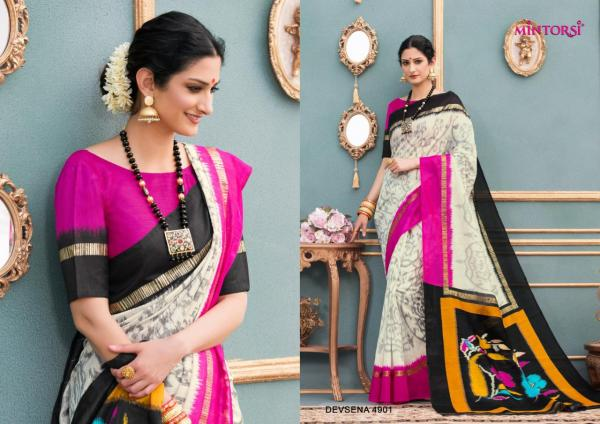 Mintorsi Saree Devsena 4901-20006 Series