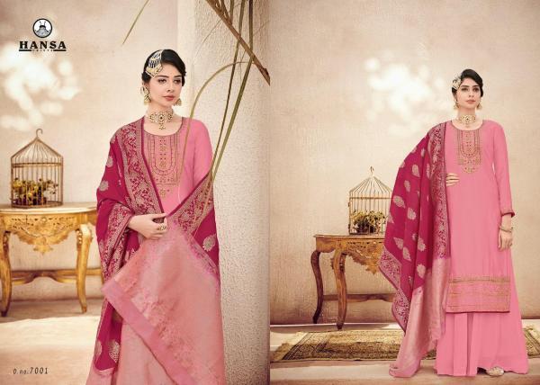 Hansa Husna Banarasi Vol7 7001-7006 Series