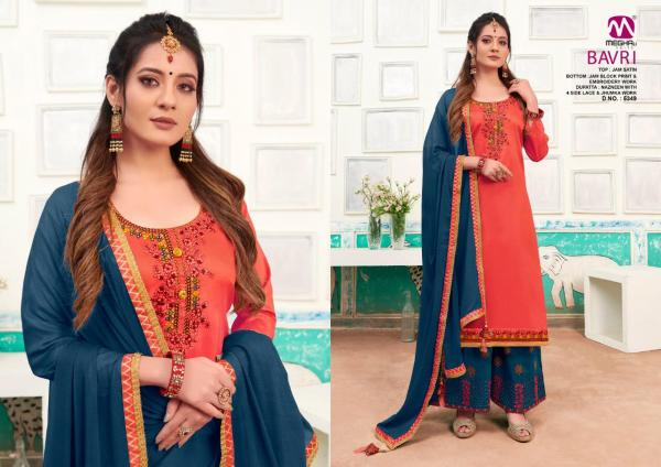 Meghali Suits Bavri 5349-5354 Series