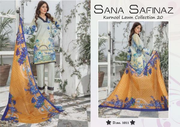 Sana Safinaz Kurnool Lawn Collection 20 1011-1014 Series