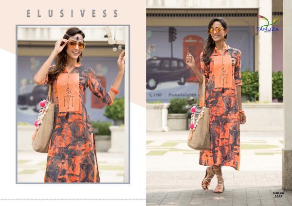 Tanuza Fashion Sonika 287 297 Series