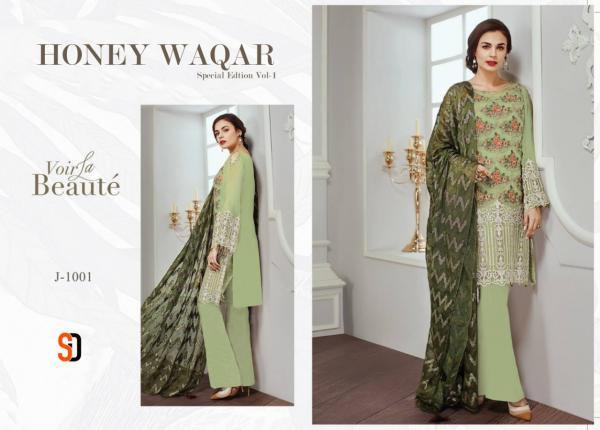 Shraddha Designer Honey Waqar Special Edition Vol-1 J1001 - J1006 Series