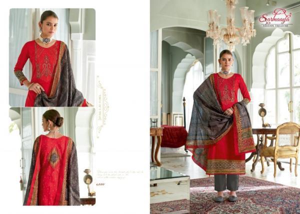 Sarmaaya Fashion Meher 40001-40008 Series