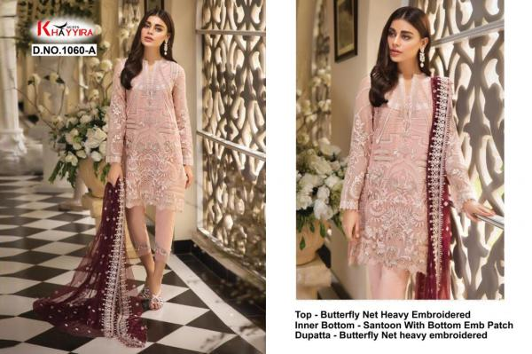 Khayyira Suits Attraction 1060 ABCD