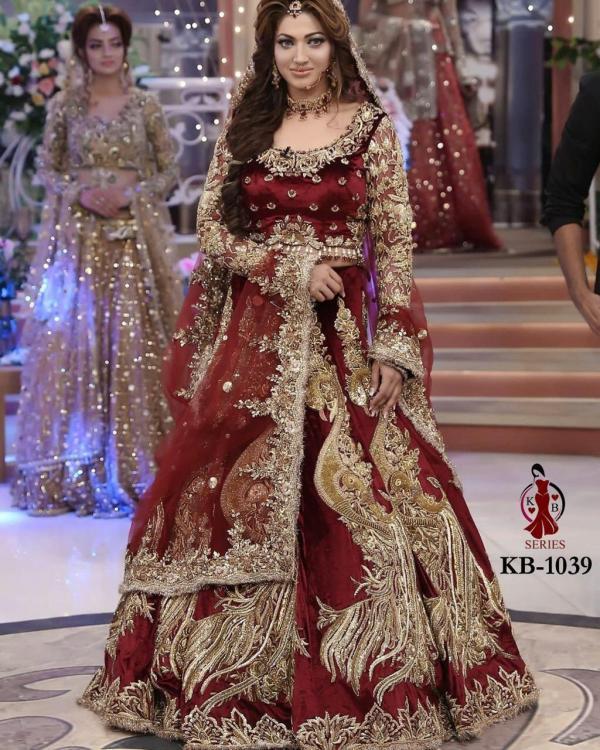 KB Series Boutique Collection Bridal Lehenga KB 1039 Colors