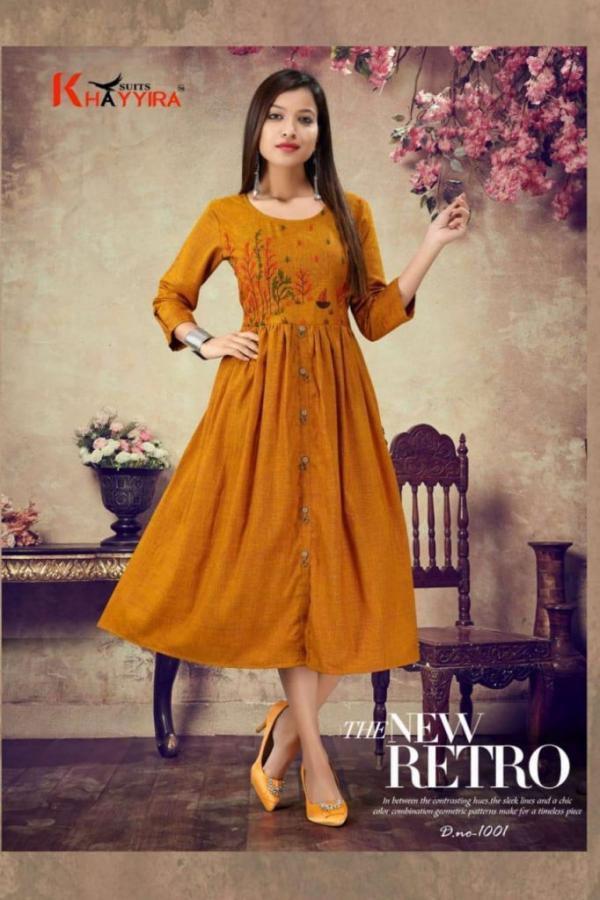 Khayyira Suits Scarlett 1001-1008 Series
