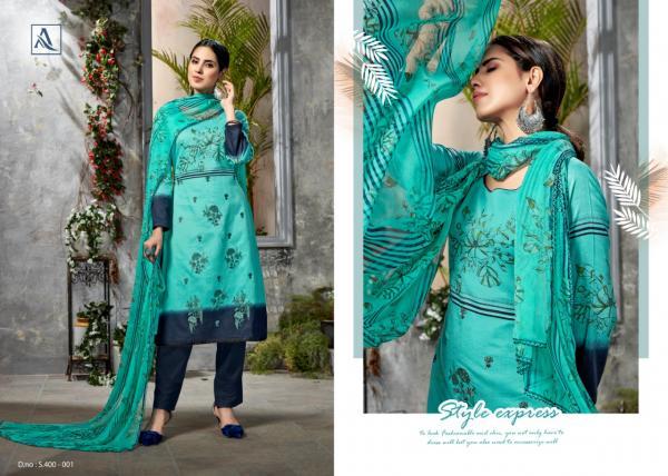 Alok Suit Minaaz 400-001-400-008 Series