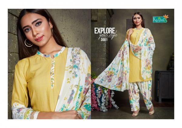 Kushal's Shanaya 3001-3005 Series
