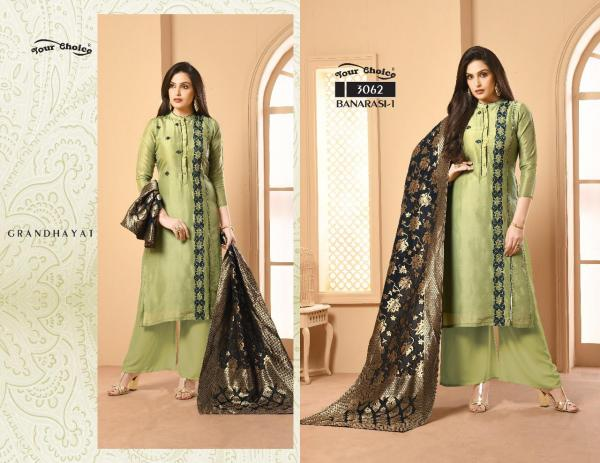 Your Choice Banarasi Vol-1 3062-3065 Series