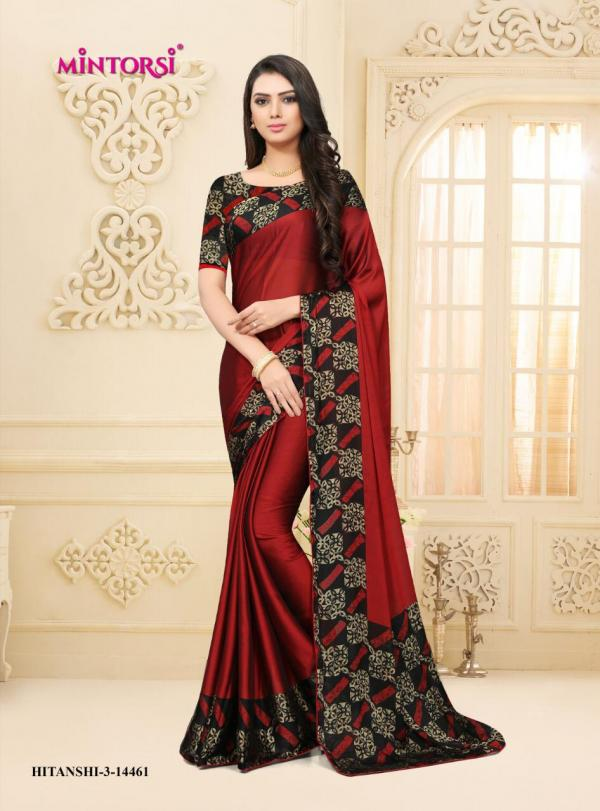Varsiddhi Fashions Mintorsi Hitanshi Vol-3 14461-14466 Series