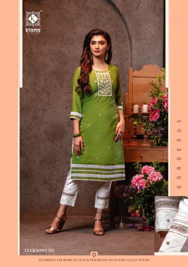 Kiana Fashion Lucknowi Vol-2 201-208 Series