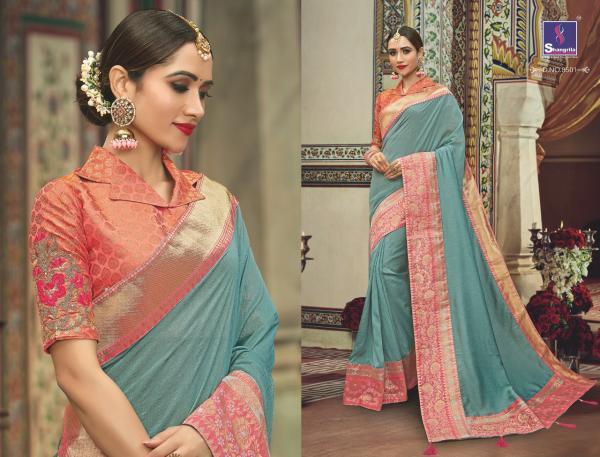 Shangrila Saree Manyavar Silk 8501-8510 Series