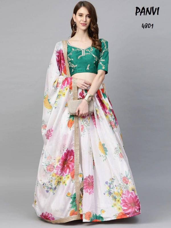 Panvi Lehenga Floral Premium 4801-4807 Series