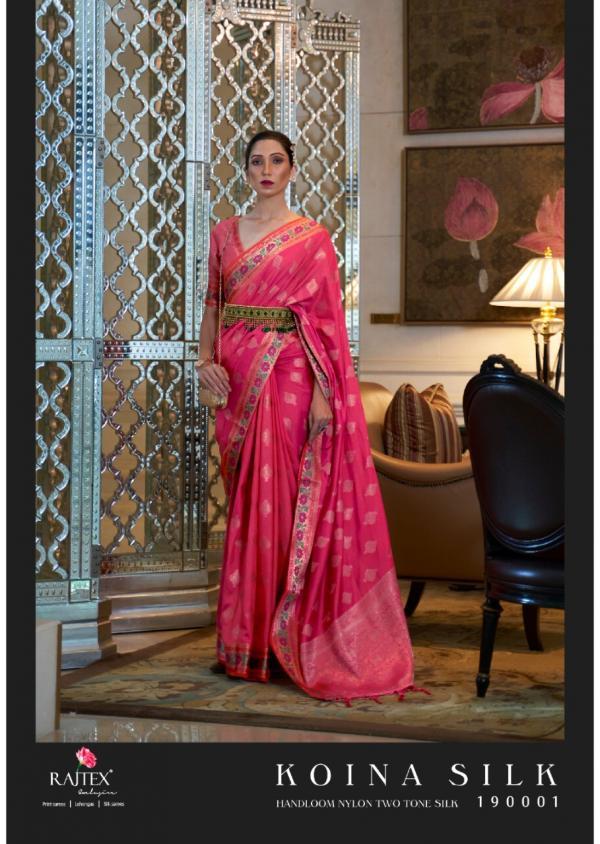 Raj Tex Koina Silk 190001-190006 Series