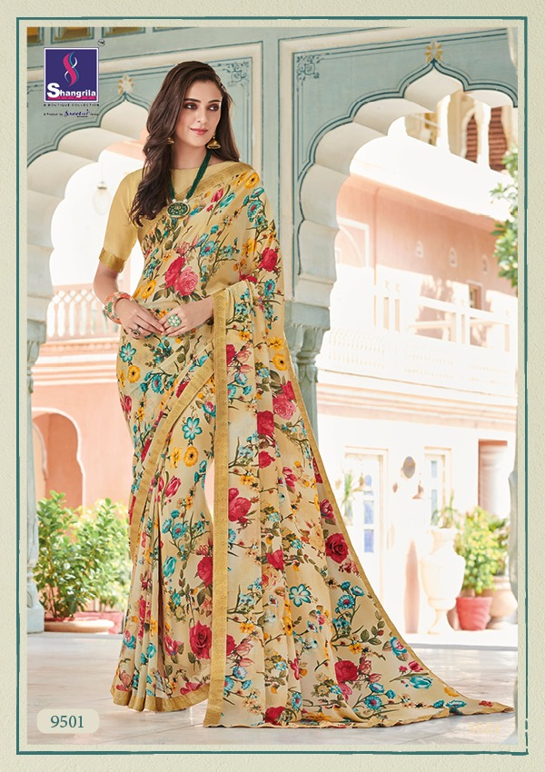 Shangrila Saree Nirvana-2 9501-9512 Series