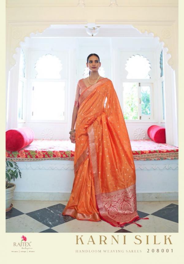 Raj Tex Karni Silk 208001-208006 Series