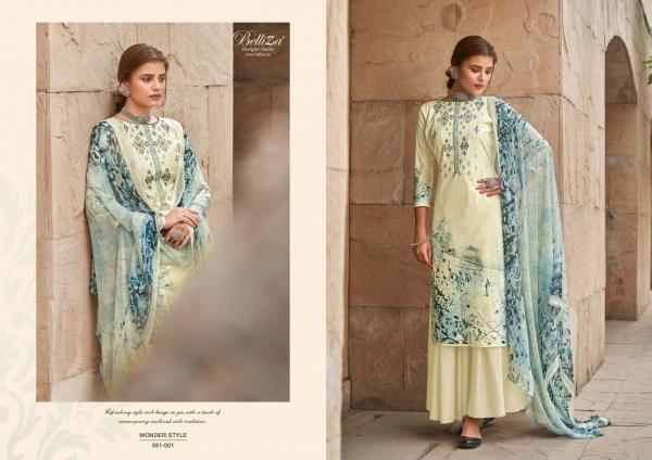 Belliza Designer Wonder Style 551-001 to 551-010 Series