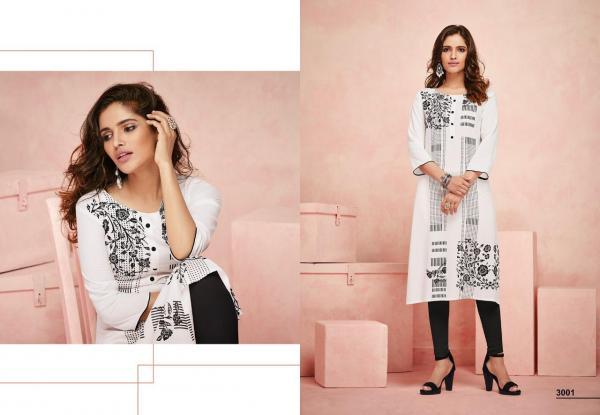 LT Fabrics Aura Vol-3 3001-3010 Series