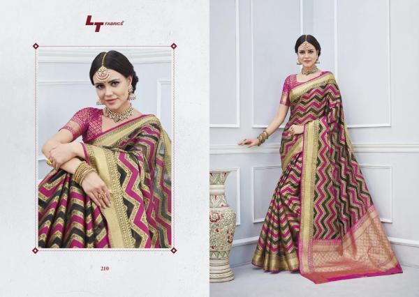 LT Fabrics Katan Silk 210-219 Series