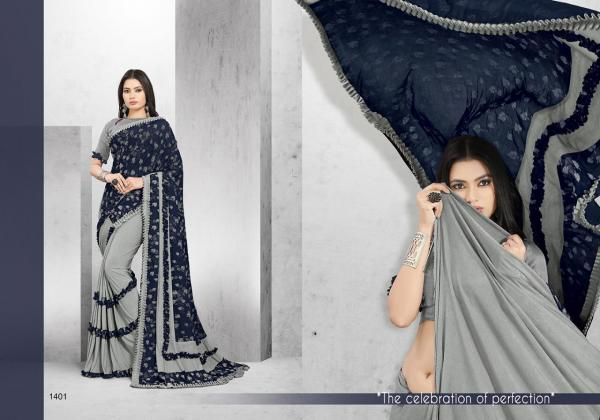 Niharika Fashion Paris Beauty 1401-1412 Series