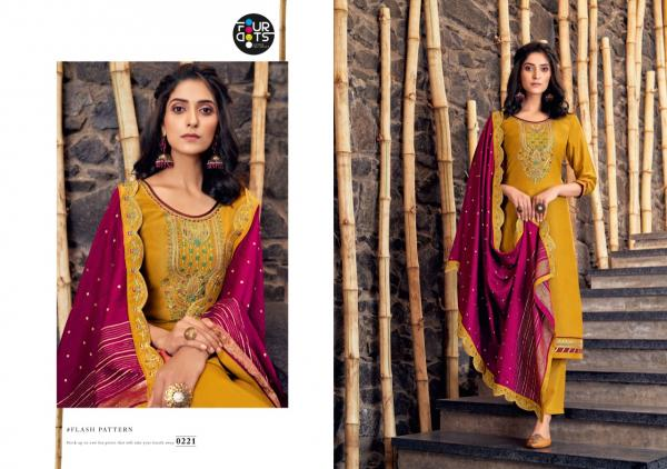 Four Dots Manjari Vol-2 0221-0224 Series