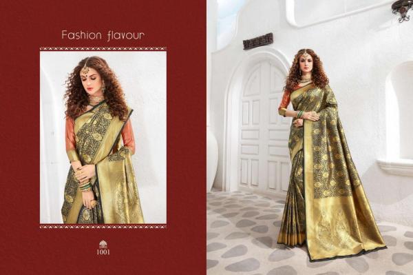 Bhumi Saree Kasturi Silk 1001-1011 Series
